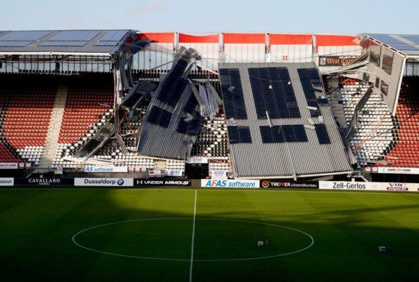 Het dak ging er af!